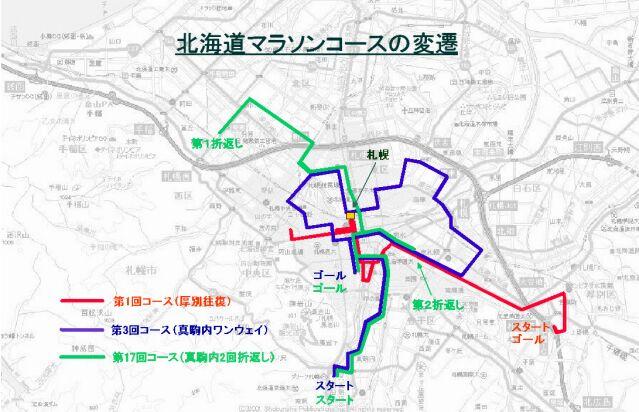 hokkaido marathon course