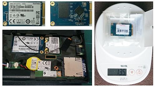 X230にSSD増設