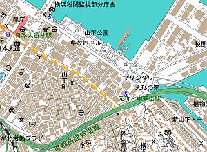 数値地図(国土基本情報)の例
