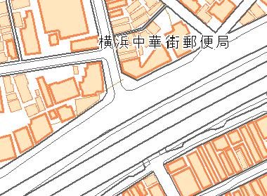 道路縁の地図
