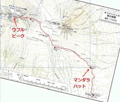 キリマンジャロ地図
