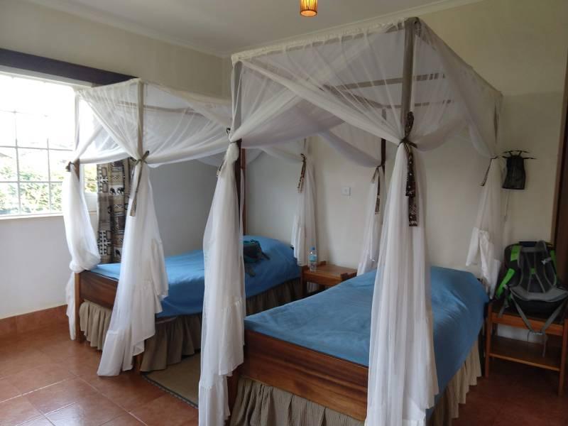 マラング・ホテルのベッド