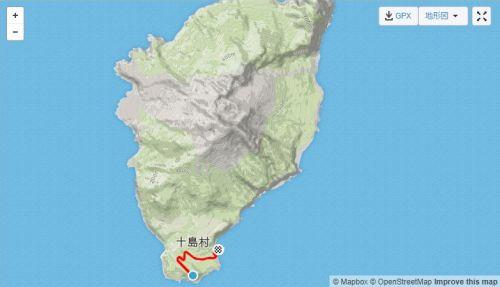 諏訪之瀬島course